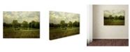 "Trademark Global Jai Johnson 'Cattle Pond In Summer' Canvas Art - 47"" x 35"" x 2"""