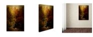 "Trademark Global Jai Johnson 'Fishing In The Cove' Canvas Art - 32"" x 22"" x 2"""