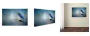 "Trademark Global Jai Johnson 'Bluebird On Patrol' Canvas Art - 19"" x 12"" x 2"""