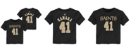 Outerstuff Toddlers Alvin Kamara New Orleans Saints Mainliner Player T-Shirt