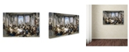 "Trademark Global Couture 'Romans During The Decadence' Canvas Art - 32"" x 22"" x 2"""