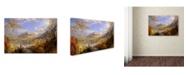 "Trademark Global Cropsey 'Starrucca Viaduct Pennsylvania' Canvas Art - 47"" x 30"" x 2"""
