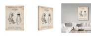 "Trademark Global Cole Borders 'Puppet 1' Canvas Art - 19"" x 14"" x 2"""