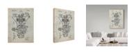 "Trademark Global Cole Borders 'Transmission' Canvas Art - 32"" x 24"" x 2"""