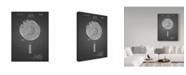 "Trademark Global Cole Borders 'Target' Canvas Art - 24"" x 18"" x 2"""