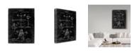 "Trademark Global Cole Borders 'Topophone' Canvas Art - 47"" x 35"" x 2"""