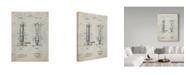 "Trademark Innovations Cole Borders 'Bunsen Burner' Canvas Art - 24"" x 18"" x 2"""