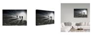 "Trademark Global Izidor Gasperlin 'Scaling Up' Canvas Art - 24"" x 2"" x 16"""