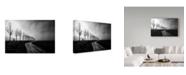 "Trademark Global Jacob Tuinenga 'A Long Road To Go' Canvas Art - 32"" x 2"" x 22"""