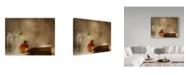 "Trademark Global Delphine Devos 'Some Reading' Canvas Art - 24"" x 2"" x 18"""