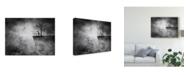 "Trademark Global Ivan Marlianto 'Messenger' Canvas Art - 19"" x 2"" x 14"""