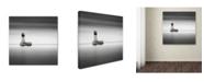 "Trademark Global Dave MacVicar 'Warning Sign' Canvas Art - 24"" x 24"" x 2"""