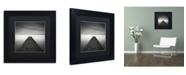 "Trademark Global Dave MacVicar 'Edge Of Reality' Matted Framed Art - 11"" x 11"" x 0.5"""