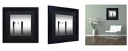 "Trademark Global Dave MacVicar 'Lucid' Matted Framed Art - 11"" x 11"" x 0.5"""