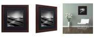 "Trademark Global Dave MacVicar 'The Urban Sea' Matted Framed Art - 16"" x 16"" x 0.5"""