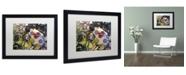 """Trademark Global Dan Monteavaro 'Dinner PA' Matted Framed Art - 16"""" x 20"""" x 0.5"""""""