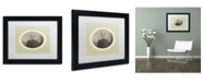 "Trademark Global J Hovenstine Studios 'Reptiles #1' Matted Framed Art - 11"" x 14"" x 0.5"""