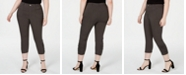INC International Concepts I.N.C. Plus & Petite Plus Ruched-Hem Cropped Pants, Created for Macy's