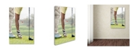 "Trademark Global The Macneil Studio 'Golf Player' Canvas Art - 19"" x 12"" x 2"""