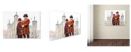 "Trademark Global The Macneil Studio 'Beefeaters' Canvas Art - 24"" x 18"" x 2"""