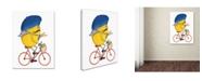 "Trademark Global Michelle Campbell 'Monsieur Citron' Canvas Art - 32"" x 24"" x 2"""