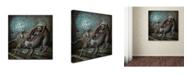 "Trademark Global Jason Limon 'No Mans Land' Canvas Art - 24"" x 24"" x 2"""