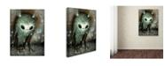 "Trademark Global Jason Limon 'Luminous Transmission' Canvas Art - 19"" x 14"" x 2"""