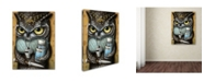 "Trademark Global Jason Limon 'Refusuffix 04' Canvas Art - 32"" x 24"" x 2"""