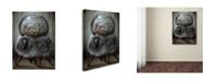 "Trademark Global Jason Limon 'Risky Reservoir' Canvas Art - 19"" x 14"" x 2"""