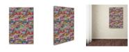 "Trademark Global Miguel Balbas 'Abstract 30715' Canvas Art - 19"" x 12"" x 2"""