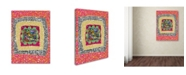 """Trademark Global Miguel Balbas 'Maze 6' Canvas Art - 47"""" x 35"""" x 2"""""""