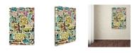 """Trademark Global Miguel Balbas 'Abstract III' Canvas Art - 24"""" x 16"""" x 2"""""""