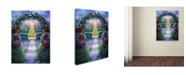 "Trademark Global Susan Rios 'Oh Holy Night' Canvas Art - 24"" x 18"" x 2"""
