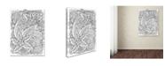 "Trademark Global Jessica Putnam 'Floral 50' Canvas Art - 47"" x 35"" x 2"""