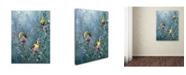 "Trademark Global Wanda Mumm 'Summer Gold' Canvas Art - 19"" x 14"" x 2"""