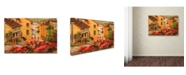 "Trademark Global Wanda Mumm 'Lake Orta Italy' Canvas Art - 24"" x 16"" x 2"""