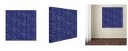 "Trademark Global Yachal Design 'Dancing Petals 300' Canvas Art - 18"" x 18"" x 2"""
