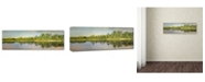 "Trademark Global Jai Johnson 'Tennessee River Reflections' Canvas Art - 47"" x 16"" x 2"""