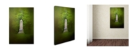 "Trademark Global Jai Johnson 'War Monument In Spring' Canvas Art - 19"" x 12"" x 2"""