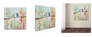 "Trademark Global Sylvie Demers 'Is It Love' Canvas Art - 14"" x 14"" x 2"""