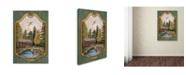 "Trademark Global Jean Plout 'Wilderness Lodge 28' Canvas Art - 24"" x 16"" x 2"""