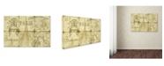 "Trademark Global Jean Plout 'Parisienne 6' Canvas Art - 32"" x 22"" x 2"""