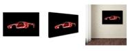 "Trademark Innovations Octavian Mielu 'Ferrari Enzo' Canvas Art - 19"" x 12"" x 2"""