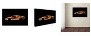 "Trademark Innovations Octavian Mielu 'Lamborghini Murcielago' Canvas Art - 32"" x 22"" x 2"""