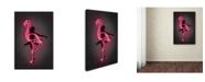 "Trademark Innovations Octavian Mielu 'Ballerina' Canvas Art - 47"" x 30"" x 2"""