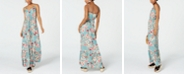City Studios Juniors' Floral-Print Maxi Dress