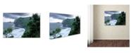 "Trademark Global Mike Jones Photo 'Pololu Valley' Canvas Art - 19"" x 12"" x 2"""