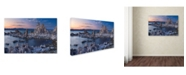 "Trademark Global Mike Jones Photo 'Mono Lake South Tufa Dusk' Canvas Art - 24"" x 16"" x 2"""