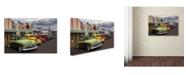"Trademark Global Mike Jones Photo 'Rt 66 Fun Run Kingman' Canvas Art - 32"" x 22"" x 2"""