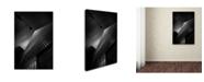 """Trademark Global Moises Levy 'Dot' Canvas Art - 47"""" x 30"""" x 2"""""""